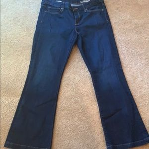 Gap 1969 32 regular long and lean trouser jeans